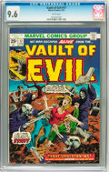 Bronze Age (1970-1979):Horror, Vault of Evil #17 (Marvel, 1975) CGC NM+ 9.6 White pages....