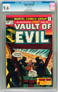 Bronze Age (1970-1979):Horror, Vault of Evil #18 (Marvel, 1975) CGC NM+ 9.6 White pages....