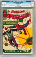 Silver Age (1956-1969):Superhero, The Amazing Spider-Man #36 (Marvel, 1966) CGC VF/NM 9.0 White pages....