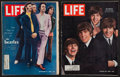 "Movie Posters:Rock and Roll, The Beatles (Life Magazine, 1964 and 1968). Magazines (2) (10.5"" X13.5"") (Multiple Pages). Rock and Roll.. ... (Total: 2 Items)"