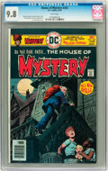 Bronze Age (1970-1979):Horror, House of Mystery #242 (DC, 1976) CGC NM/MT 9.8 White pages....