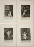 Antiques:Posters & Prints, John Boydell. Richard Westall, et al. Eight Engravings DepictingScenes from Othello, Hamlet, Macbeth, Midsummer Night's...(Total: 8 Items)