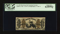 Fractional Currency:Third Issue, Fr. 1348 50¢ Third Issue Justice. PCGS Choice New 63PPQ.. ...
