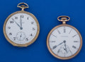 Timepieces:Pocket (post 1900), Two - Waltham 17 Jewel 12 Size Pocket Watches Runners. ... (Total:2 Items)
