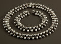 Silver Smalls:Other , A MEXICAN SILVER NECKLACE AND BRACELET . William Spratling, Taxco,Mexico, circa 1942. Marks: SPRATLING SILVER, MADE IN ... (Total:2 Items Items)
