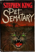 Books:Horror & Supernatural, Stephen King. Pet Sematary. New York: Garden City, 1983..First edition. Presentation copy, inscribed by the aut...