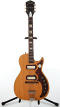 Musical Instruments:Electric Guitars, 1964 Harmony Stratotone Natural Electric Guitar....