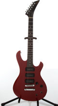 Musical Instruments:Electric Guitars, 1980s Gibson Custom Original Red Electric Guitar, #81005541....