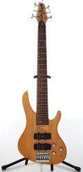 Musical Instruments:Bass Guitars, 1990s Washburn Bantam XB-600 Natural 6-String Electric Bass Guitar, #7116379....
