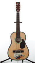 Musical Instruments:Acoustic Guitars, Castilla Guitars CS-30 Hand Painted Indian Acoustic Guitar....