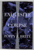 Books:Signed Editions, Poppy Z. Brite. INSCRIBED. Exquisite Corpse. [New York]: Simon & Schuster, [1996]. First edition, first printing. ...