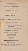 Books:Non-fiction, Bryan Edwards. The History, Civil and Commercial, of the BritishColonies in the West Indies. Philadelphia: Jame... (Total: 4Items)