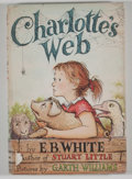 Books:Children's Books, E. B. White. Charlotte's Web. New York: Harper & Row,[1952]. Later issue. Octavo. 184 pages. Publisher's pictorial ...