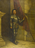 Fine Art - Painting, European:Antique  (Pre 1900), WILLIAM ANSTEY DOLLAND (British, 1858-1929). Portrait of aGentleman in Armor. Oil on canvas. 24in. x 18in.. Signed atl... (Total: 1 Item)