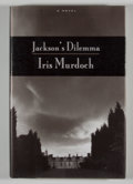 Books:First Editions, Iris Murdoch. Jackson's Dilemma. [New York]: Viking, [1996].First American edition, first printing. Octavo. 249 pag...