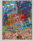 Books:First Editions, James Rizzi. James Rizzi: The New York Paintings. Munich:Prestel, [1996]. First edition. Quarto. 286 pages. Pub...