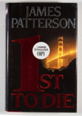 Books:First Editions, James Patterson. SIGNED. 1st to Die. Boston: Little, Brown,[2001]. First edition, first printing. Signed. Octav...
