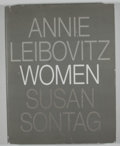 Books:First Editions, Annie Leibovitz and Susan Sontag. Women. [New York]: [RandomHouse], [1999]. First edition. Quarto. 239 pages. Publi...