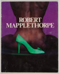 Books:First Editions, [Robert Mapplethorpe]. Robert Mapplethorpe. [Tokyo]: Parco,[1987]. First edition, first printing. Quarto. Unpaginat...