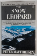 Books:Signed Editions, Peter Matthiessen. INSCRIBED. The Snow Leopard. [New York]: Penguin Books, [1987]. Trade edition, later printing. ...