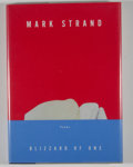 Books:Signed Editions, Mark Strand. SIGNED. Blizzard of One. New York: Knopf, 1998. First edition, first printing. Signed. Octavo. 54 p...