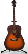 Musical Instruments:Acoustic Guitars, 1985 Harmony Sovereign H604 Orange Burst Acoustic Guitar....