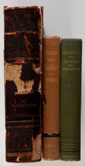 Books:Americana & American History, Elizabeth B. Custer. Three first editions, including: Boots andSaddles or Life in Dakota with General Custer....(Total: 3 Items)