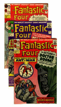 Silver Age (1956-1969):Superhero, Fantastic Four US and UK Editions Group (Marvel, 1963-65) Condition: Average Apparent VG.... (Total: 13 Comic Books)