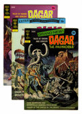 Bronze Age (1970-1979):Miscellaneous, Dagar the Invincible #1-19 File Copies Group (Gold Key, 1972-82)Condition: Average NM-.... (Total: 19 Comic Books)