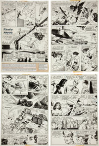 Jose Delbo and Vince Colletta Wonder Woman #258 Page Original Art Group (DC, 1979).... (Total: 11 Items)