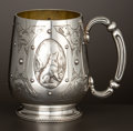 Silver Holloware, British:Holloware, A VICTORIAN SILVER AND SILVER GILT CUP . Frederick Elkington(Elkington & Co.), London, England, circa 1875-1876. Marks:(li...
