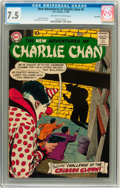 Silver Age (1956-1969):Mystery, The New Adventures of Charlie Chan #5 Savannah pedigree (DC, 1959)CGC VF- 7.5 Off-white to white pages....