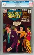 Silver Age (1956-1969):Romance, Secret Hearts #119 Savannah pedigree (DC, 1967) CGC NM+ 9.6Off-white to white pages....