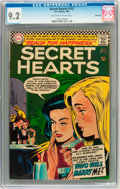 Silver Age (1956-1969):Romance, Secret Hearts #113 Savannah pedigree (DC, 1966) CGC NM- 9.2Off-white to white pages. ...