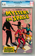 Silver Age (1956-1969):Science Fiction, Mystery in Space #80 Savannah pedigree (DC, 1962) CGC NM 9.4Off-white to white pages. ...