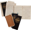 Autographs:Military Figures, John G. Butler Archive... (Total: 2 Items)