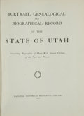 Books:Non-fiction, Reed Smoot's copy of Portrait, Genealogical and BiographicalRecord of the State of Utah......