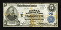 National Bank Notes:Maine, Portland, ME - $5 1902 Plain Back Fr. 598 The Canal NB Ch. # 941....