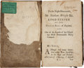 Autographs:Statesmen, Gunning Bedford, Jr. Signed Copy of an Early English Legal Volume....