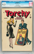 Golden Age (1938-1955):Miscellaneous, Torchy #1 (Quality, 1949) CGC VG+ 4.5 Off-white pages. ...