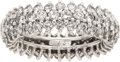 Estate Jewelry:Rings, Diamond, Platinum Eternity Band, Neiman Marcus. ...