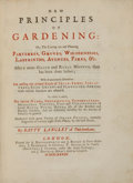 Books:Natural History Books & Prints, Batty Langley. New Principles of Gardening: Or, The Laying outand Planting Parterres, Groves, Wildernesses, Labyrinths,...