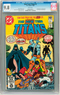 Modern Age (1980-Present):Superhero, New Teen Titans (1980 series) #2 (DC, 1980) CGC NM/MT 9.8 Whitepages. ...