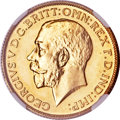 South Africa, South Africa: George V gold Sovereign 1923-SA,...