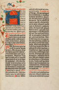 Books:Early Printing, Missale, Use of Magdeburg. [Magdeburg: Moritz Brandis, 14 April 1497]....