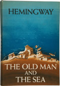 Books:Literature 1900-up, Ernest Hemingway. The Old Man and the Sea....