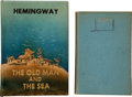 Books:Literature 1900-up, Ernest Hemingway. The Old Man and the Sea. New York: CharlesScribner's Sons, [1952].. Later edition. With h...