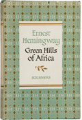 Books:Literature 1900-up, Ernest Hemingway. Green Hills of Africa....
