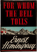 Books:Literature 1900-up, Ernest Hemingway. For Whom the Bell Tolls....