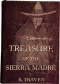 Books:Literature 1900-up, B. Traven. The Treasure of the Sierra Madre. New York:Alfred A. Knopf, 1935....